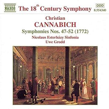 Cannabich: Symphonies Nos. 47 - 52