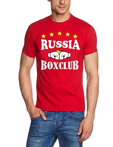 Russia - Russland BOXCLUB T-Shirt rot Gr.M