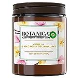 Botanica by Air Wick - Vela Aromática Perfumada, Ambientador Esencia Para Casa Con Aroma A Vainilla Y Magnolia Del Himalaya