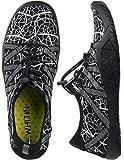 WHITIN Scarpe Barefoot per Uomo Scarpe da Acqua Scarpette da Bagno Surf Yoga Sport Acquatico Traspirante Antiscivolo Scarpe a Piedi Nudi dell'Acqua Argento 41 EU