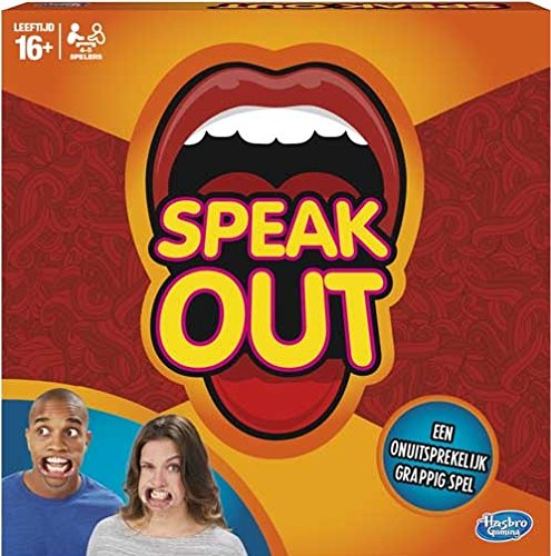 Hasbro c2018104 Speak out (en holandés)