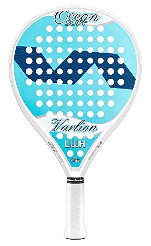 Varlion LW H Ocean - Pala de pádel, Mujer Adulto, Celeste/Azul, 360-365 gr.