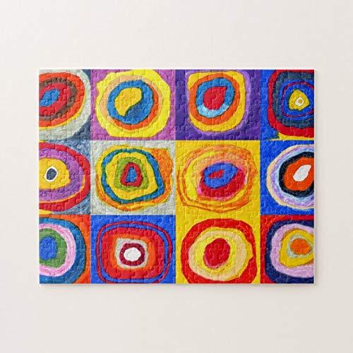Phish Circles Puzzle   Rompecabezas para adultos 500 piezas Rompecabezas de imagen Rompecabezas