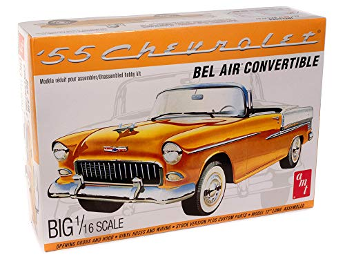 AMT 1955 Chevy Bel Air Convertible 1:16 Scale...