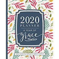 2020 Christian Planner Weekly and Monthly: A Year of Grace: Floral Cover