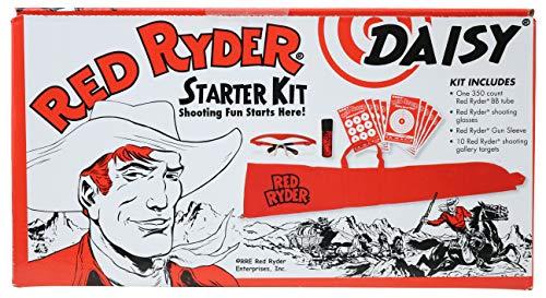 Daisy 3163 Red Ryder Starter Kit (993163-304), Multicolored