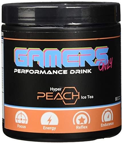 Gamers Only Hyper Pfirsich-Eistee, 80 Portionen, 400 gramm
