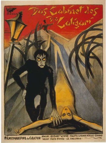 The Cabinet of Dr. Caligari Poster Movie Italian 11x17 Conrad Veidt Werner Krauss Lil Dagover