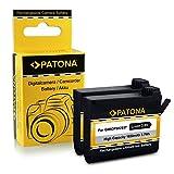 PATONA 2X Bateria GMICP902937 Compatible con Garmin Virb Ultra 30, de Calidad Probada y fiable