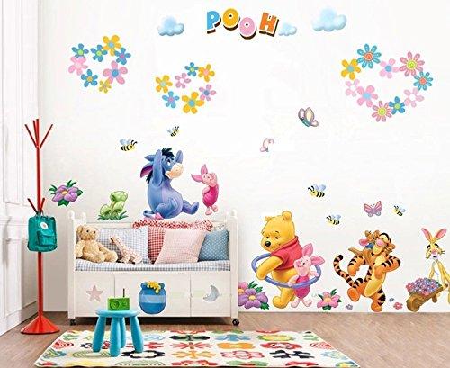 Colorful world Disney XXXL! Winnie the pooh adesivi in PVC da parete per cameretta bambini
