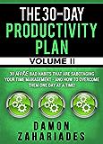 30天生产力计划-第二卷:30多个破坏你时间管理的坏习惯-以及如何一天一天克服它们!(30天生产力指南系列第2册)