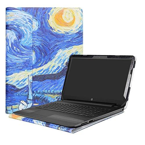 """Alapmk Specialmente Progettato PU Custodia Protettiva in Pelle per 15.6"""" HP Notebook 15-bsXXX / 15-bwXXX (Come 15-bw056nl,ECC.) Notebook,Starry Night"""