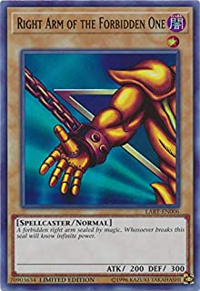 Yu-Gi-Oh! Singles - Right Arm of The Forbidden One - LART-EN006 - Ultra Rare - Limited Edition