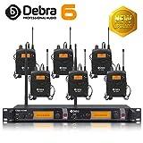 Beste Klangqualität! Professionelles UHF-In-Ear-Monitor-System Dual Channel Monitoring ER-2040 Typ für