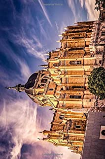 Cathedral Notebook, Journal, Diary - Classic Writing 120 Lined Pages #1: Famous Places Unique Art Masterpiece Sculpture Pa...