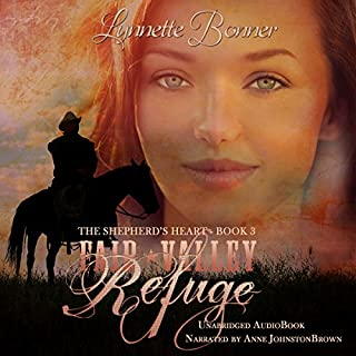 Fair Valley Refuge     The Shepherd's Heart, Book 3              Auteur(s):                                                                                                                                 Lynnette Bonner                               Narrateur(s):                                                                                                                                 Anne Johnstonbrown                      Durée: 9 h et 45 min     Pas de évaluations     Au global 0,0