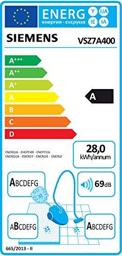 Siemens Z 7.0 Bodenstaubsauger mit Beutel VSZ7A400 Bild 6*