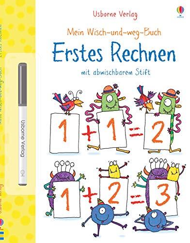 Mein Wisch-und-weg-Buch: Erstes Rechnen: mit abwischbarem Stift