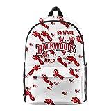 New Backwoods Cigar Backpack Halloween Pumpkin Skull Skeletons Print School Backpack Laptop Shoulder Book Bag for Men (H)