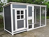 ChickenCoopOutlet 78' Light Weight Wood Frame Chicken...