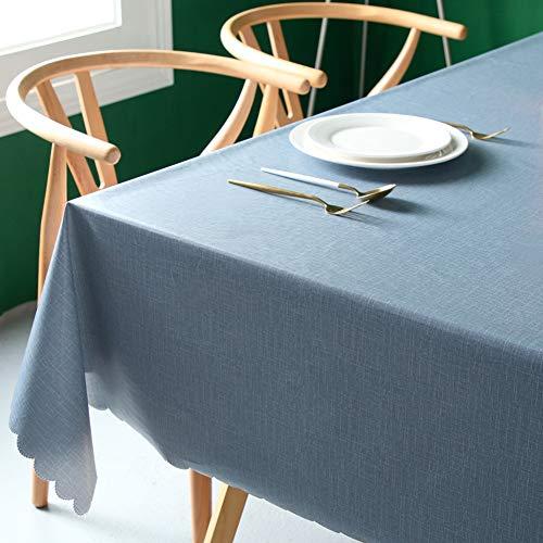ZZUU PVC - couleur rectangulaire 90x140 cm, haute qualité - imperméable et durable,110 * 170cm