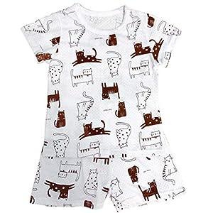 パジャマ キッズ 半袖 tシャツ ショートパンツ 綿 薄手 ルームウェア ねまき 男の子 女の子 子ども 幼 稚園 保育園 小学生 夏 90
