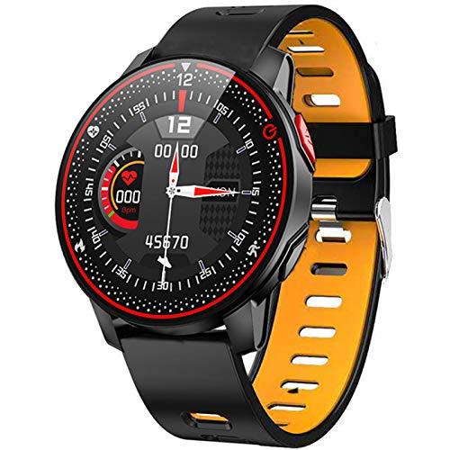 R18 Reife Frauen Smart Watch Full Touch Screen Smartwatch Für Mädchen Herzfrequenz Schlafüberwachung Für Android Und Ios,E