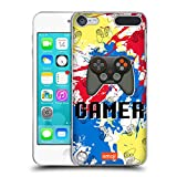 Official emoji Gamer Trendy Hard Back Case Compatible for Apple iPod Touch 5G 5th Gen