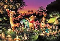 300/500/1000ピース 木のおもちゃ 木のパズル おもちゃ 知育玩具 ジグソーパズル くまのプーさん ブルースカイ ファンタジー ぎゅっとシリーズ【ピュアホワイト】