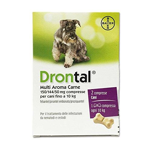 CentroVete Bayer Vermifugo antiparasitario para Perros en comprimido (2 CPR) – Combate los Principales parásitos intestinales