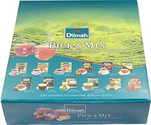 Dilmah Pick & Mix 240 Teebeutel ( Einzeln verpackt )