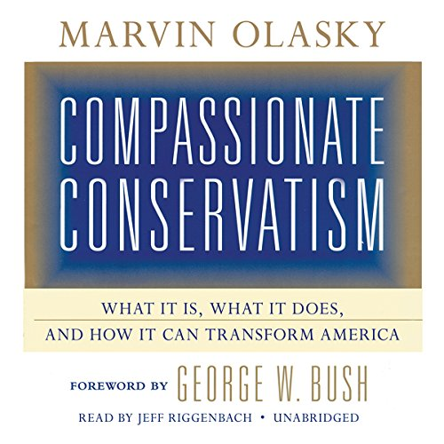 Compassionate Conservatism audiobook cover art