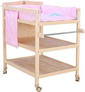 YDHYYDQCFJL Baby Diaper Changing Table-Change Diaper Station Wooden Change Table Portable Baby Care Station Dressing Table Station Storage Space Baby Massage Station