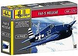 Heller - 80272 - Maquette - Aviation - F6f-5 Hellcat Chasseur - Deuxième Guerre Mondiale - 41 Pièces