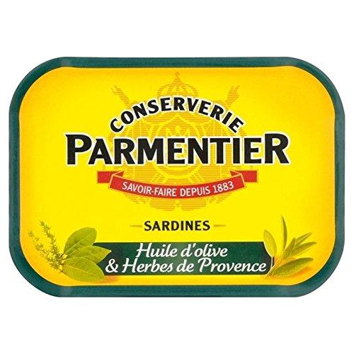 Parmentier H. Sardines D'Huile d'olive Et Herbes 135G - Paquet de 6