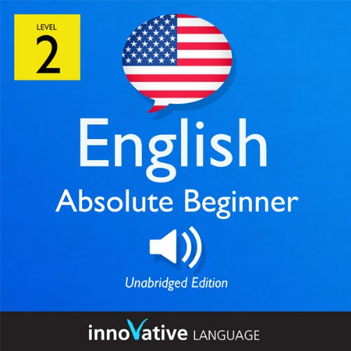 Learn English - Level 2: Absolute Beginner English, Volume 1: Lessons 1-25 audiobook cover art