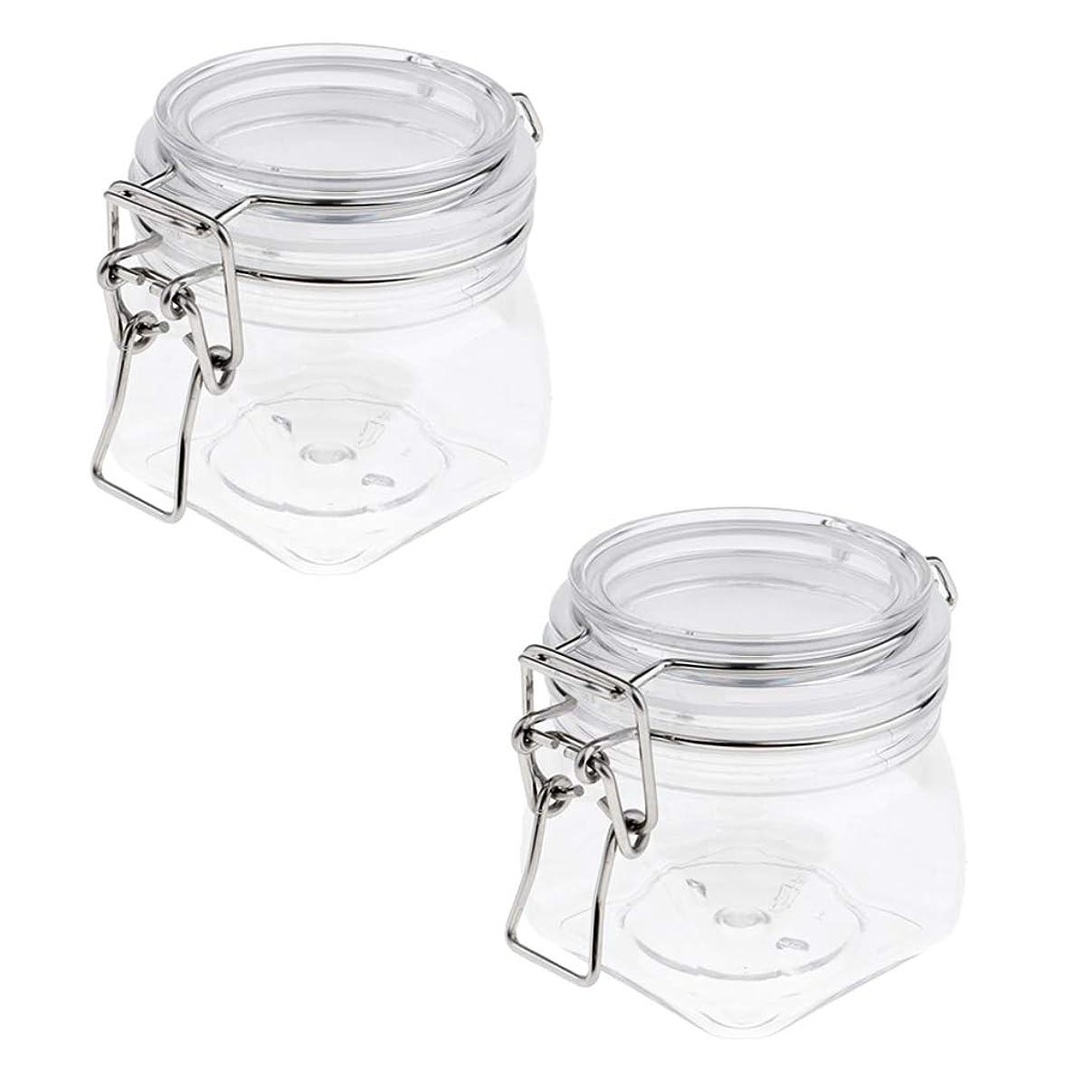 値下げより良い私たちSM SunniMix 密閉瓶 プラスチック 化粧品容器 クリーム 約250ml コンテナ ジャー シリコンシールリング