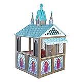 KidKraft Disney Frozen Arendelle Wooden Playhouse, Children's Outdoor Play, Gift for Ages 3-10