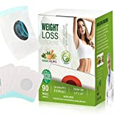 (90 Pcs) Weight Loss Sticker,Slimming Tightening Sticker for Beer Belly, Buckets Waist, Waist Abdominal Fat