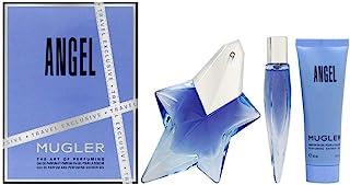 Thierry Mugler Angel Gift Set for Women, 3 Pieces: Eau de Parfum 50ml+ Bath & Shower Gel 50ml + Mini Eau de Parfum 10ml