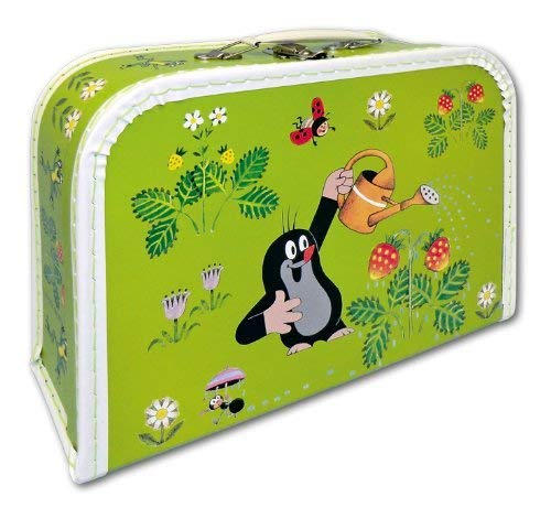 Der kleine Maulwurf, Kinder-Koffer hellgrün 30 cm