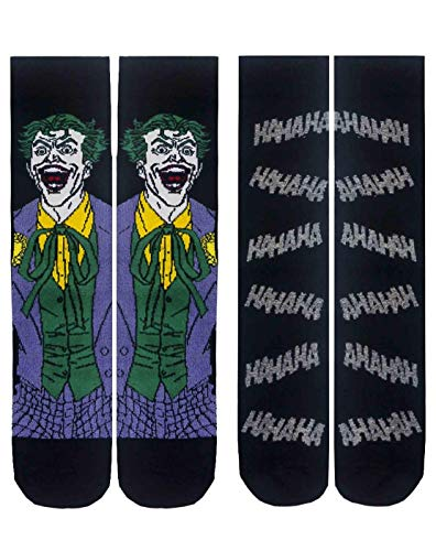 Batman The Joker Herrensocken DC Comics Packung mit 2 Größen 41-45 EU