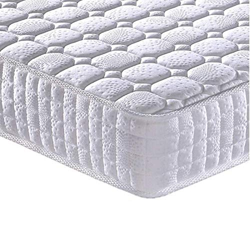 Vesgantti 5FT King Size Mattress, 9.4 Inch Pocket Sprung Mattress King Size with Breathable Foam and Individually Pocket Spring - Medium Plush Feel, Standard Tight Top Collection
