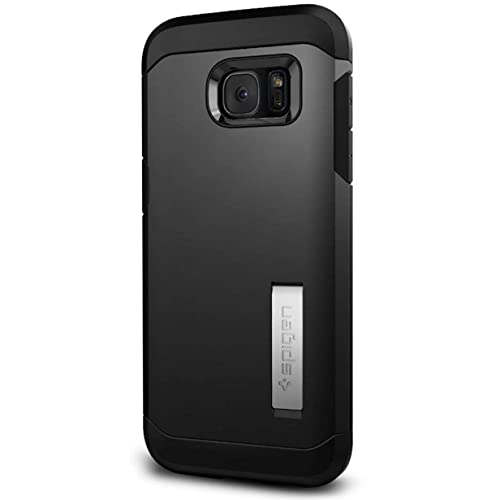 Spigen Tough Armor HEAVY DUTY EXTREME Protection Rugged Slim Dual Layer Protective Cover Case for Samsung Galaxy S7 Edge - Black