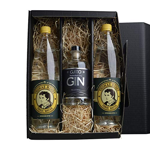 GJITO Niederrhein Dry Gin + 2x Thomas Henry Tonic Water 1 L