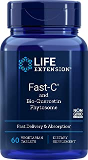 Life Extension Fast-C with Bio-Quercetin, 60 Tablets