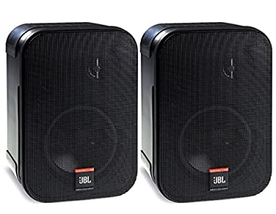 JBL Professional Control 1 Pro High Performance 2-Way Professional Compact Loudspeaker System, Black (sold as pair) - C1PRO by JBL