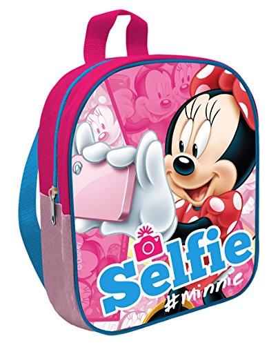 Zaino Minnie Disney asilo borsa scuola cm. 24x21x10 - MN16500
