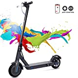 COLORWAY Electric Scooter Adult, 7.5Ah Long-Range Battery, 350W Motor Up to 25 km/h, 8.5 Inch Solid...