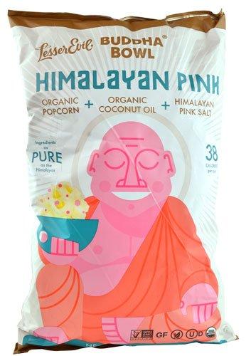 Best Buy! Lesser Evil Popcorn Buddha Hymly Pink